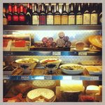 Selection of cured meats / antipasti