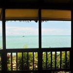 Sunset Oceanfront Villa Deck