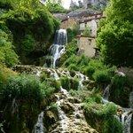 Waterfalls in nearby village
