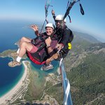 Flight over Olu Deniz