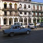 OLD HAVANA - buildings and cars