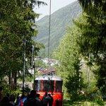 The rescue deisel train