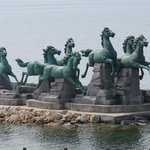 Iconic Sculpture at Yangma Island
