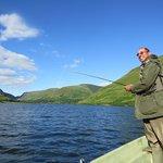 fly fishing on Tal y Llyn