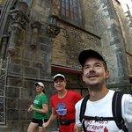 Running in Prague's Old Town