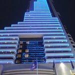 Вечерний вид на отель