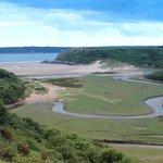 Three Cliffes Bay