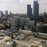 Tel Aviv from a bird view