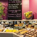 Petit-déjeuner Best Western Plus Karitza Biarritz