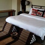 Phra sumen suite.. View of golden mountain as well..