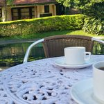 Tea / Coffee time by the pool