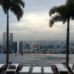 Rooftop Infinity Pool - Marina Bay Sands Hotel