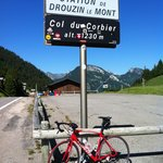 Col du Corbier starts 2 mins from the chalet