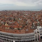 Vistas desde el Campanille de Venezia