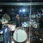 Neil Pearr drum kit in media section