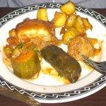 Vegetarian Mezze main course