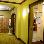 Hallway to our guestroom