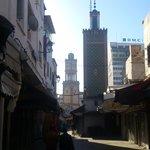 Walking inside the Souq
