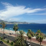 View of Nice from room balcony.