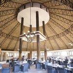 View inside the Boma Restaurnat