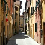 Delightful village of San Giovanni Valdarno