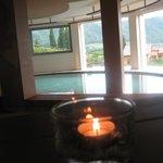 Relax alla SPA con pisicna' acqua di mare'e vista favolosa sul  Lago