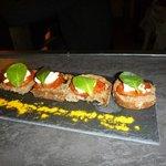 Crostini Chorizo Feta