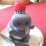 awwwwwwww harry hippo is now on our fridge