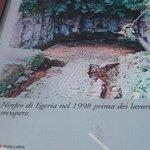 Ninfeo di Egeria avant restauration