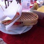 Estate (that is pronounced es ta te') sandwich