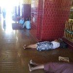 durmiendo mas cerca de Buda