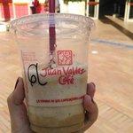 Frappuccino do Juan Valdez Café