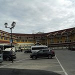 l'hotel vu de face
