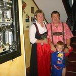 Familie Gruber die Gastgeber