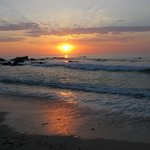 Sunrise on Punta Pescadero Beach