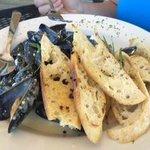 Fresh Maine Mussels with Tarragon Dijon Cream