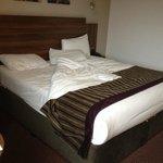 Huge comfy bed!