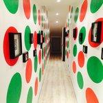 Trippy hallway