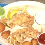 Soft shell crabs sauteed