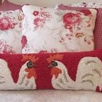 Rooster Room Pillows