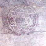 Pintura descubierta en la Torre del Trovador