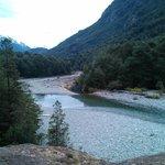 Rio Azul. Arrancando el ascenso.