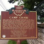 Camp Chase Historical Marker