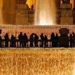 Magische fontein.