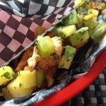 Killer Fish Taco: looks awesome, tastes kind of bland
