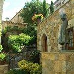 un coin romantique de la vieille ville