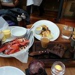 Seafood & Steak Meal