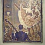 """Le Cirque"" werk van Georges Seurat."