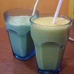 Mango banana is a must-try juice. Avocado is not a bad choice too!