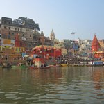 A view of the ghats